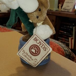 BOYDS BEARS COLLECTION HE LOVES ME NOT